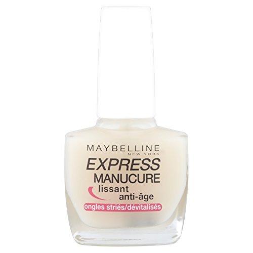 Gemey-Maybelline - manicura exprés - Cuidado de las uñas polaco - clavos Suavizante Anti-Aging estriado