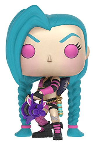 Funko Pop! - Jinx Figura de Vinilo, colección de Pop, seria League of Legends (10305)