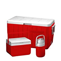 Coleman Ice Box Combo 48 Qt - Red