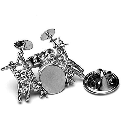 Kit Spilla in metallo, con confezione regalo, ideale per batteristi per batteristi