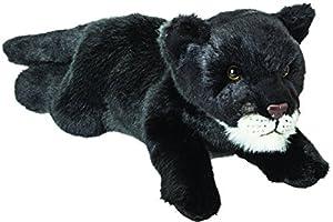 Suki Gifts 12125Suki Classic Liegender, Pantera Negra Peluche, 30cm, 30cm