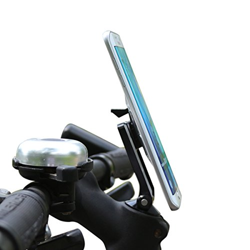 Lanktoo Bike Holder Road Bike Mount MTB iPhone 55S 6Plus Samsung Galaxy HTC Stem Cap Bike Phone Holder For Cycling vidéo Record and GPS instruction