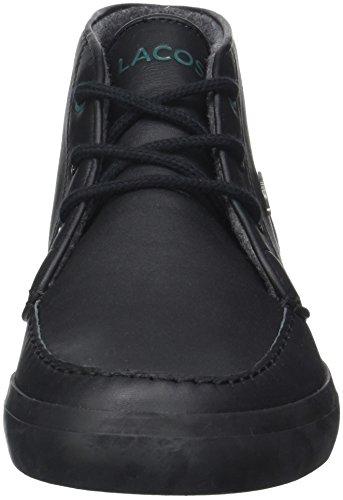 Lacoste Sevrin Mid 417 1 Cam, Baskets Hautes Homme Noir (Blk/Blk)