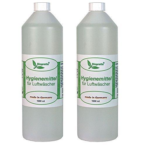 Biopretta 2 Liter Hygienemittel für Luftwäscher Luftreiniger Luftbefeuchter Raumklimaverbesserer