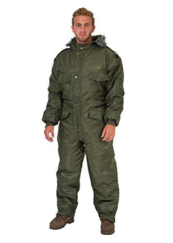grn-Schneeanzug-Winter-Bekleidung-Schnee-Ski-Anzug-Overall-Undurchlssiger-Anzug-XS