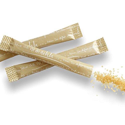 1000x Zuckersticks mit 3,5 g braunem Zucker -