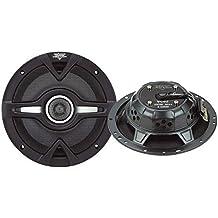 """Lanzar VC62 - Altavoces coaxiales para coche (200 W, 6.5""""), negro"""