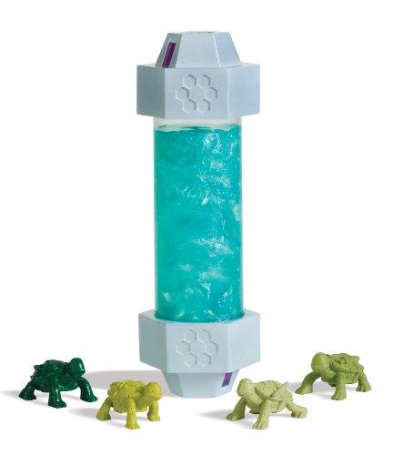 Teenage-Mutant-Ninja-Turtles-Mutagen-Schleim mit Mini-Turtle-Figuren (Mini-ninja Turtles)