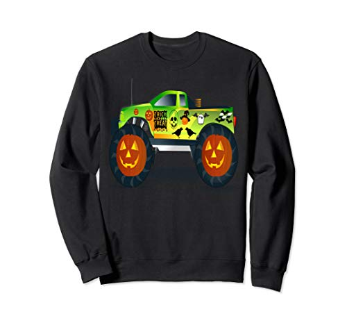 Truck Monster Kostüm - Trick Or Treat Halloween Kostüm Pullover  Sweatshirt