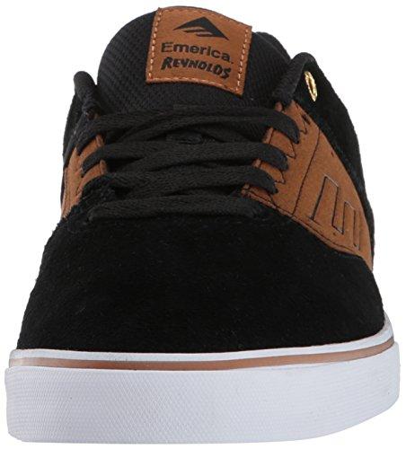 Emerica The Reynolds Low Vulc Herren Skateboardschuhe Black/Tan