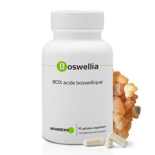 BOSWELLIA * 100% naturel * Titré à 80% en acide...