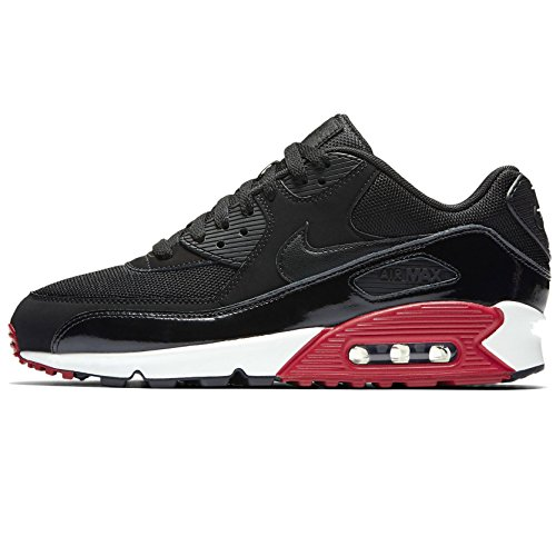 nike-air-max-90-essential-scarpe-da-ginnastica-uomo-bianco-black-black-gym-red-white-43