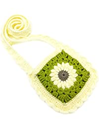 Magic Needles Crochet Handmade Sling Bag - B071G5QVHV