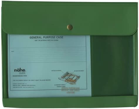 Nahe General Purpose Case A5 - Green Green Green fd8824