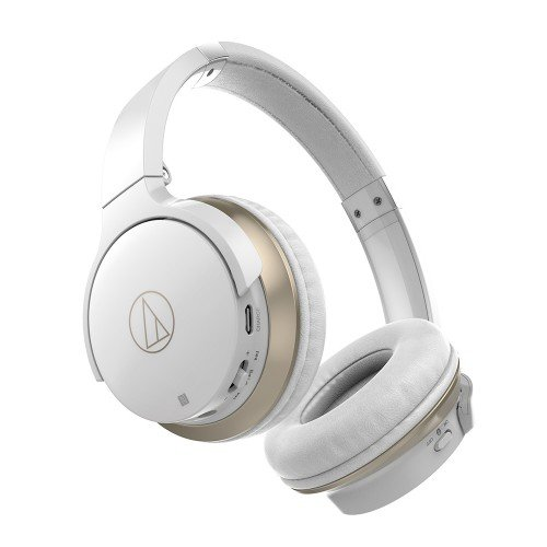 Audio-Technica ATH-AR3BTWH Wireless On-Ear Kopfhörer Bluetooth weiß - 2