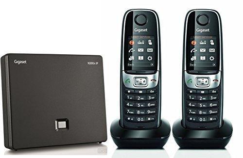 Gigaset C620A IP Voip DECT Dual Cordless Phone (liGO Bundle) (Twin)