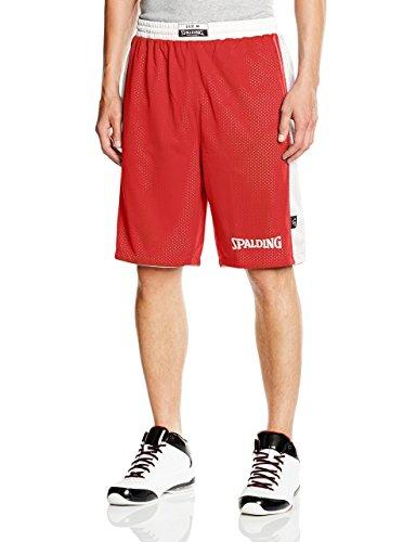 Spalding Essential Reversible Shorts - rot/weiß, Größe:XXS
