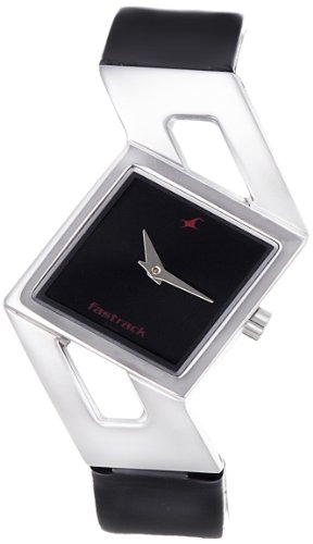 Fastrack Girls Analog Black Dial Women's Watch - NE6035SL02 image