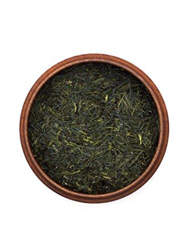 Japanischer Grüner Tee Gyokuro Kusanagi, BIO-zertifiziert, Super-Premium, beschattet. 50 g, lose, nicht aromatisiert. Aus kleinem Tee-Garten Präfektur Shizuoka. Sehr edel: charaktervoller Grün-Tee, herzhaft wohlschmecken mit milder Süße (Umami)