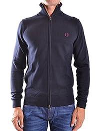 Fred Perry Homme MCBI128099O Noir Coton Sweatshirt