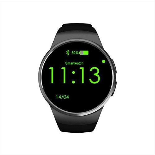Human Smart Uhr KW18 Smart Phone Watch Bluetooth Uhr,Black