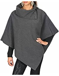 AO Poncho à Col montant Taille S / M / L