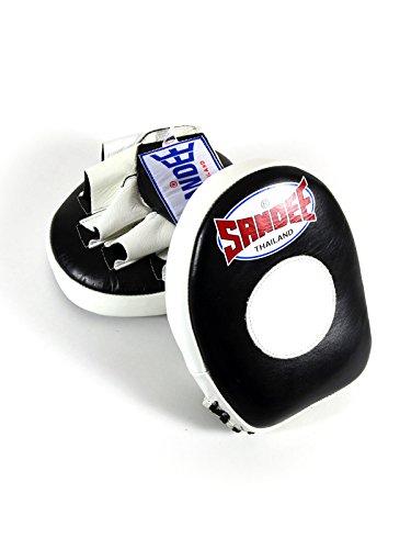 Sandee Pratzen Leder Mini Focus Mitt Einheitsgröße Mehrfarbig - schwarz / weiß -