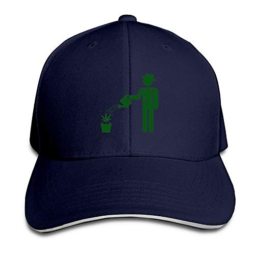 Gxdchfj Cannabis Leaf Baseball Cap for Men Women Low Profile Running 5 Panel Hats Multicolor3 Low Profile 5-panel -
