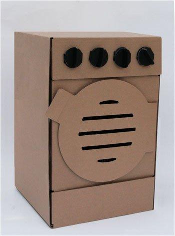Preisvergleich Produktbild Waschmaschine aus Pappe zum Anmalen von Cardanio -MADE IN GERMANY-