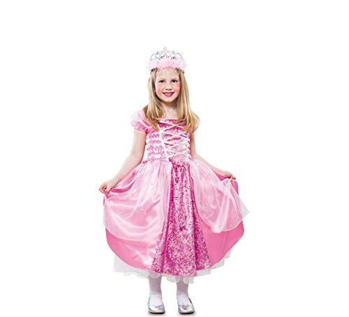 Fyasa 706216-t01Princess Fancy Dress Kostüm, rosa, (Mario Kostüme Weiblich)