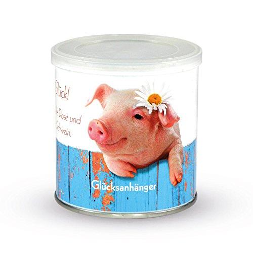 Preisvergleich Produktbild Glücksdose - Schweinchendose Anhänger