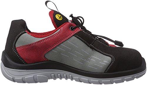 Maxguard - PETER P320, Calzature Di Sicurezza, unisex Multicolore (rot/grau)