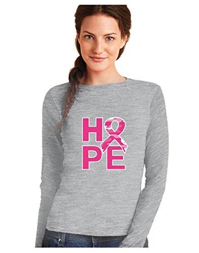 Camiseta Manga Larga Mujer - Hope - Apoya Lucha contra