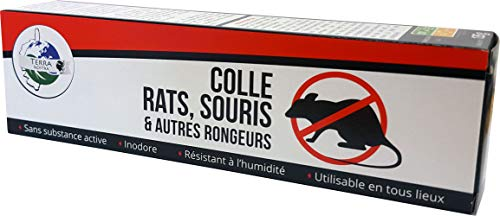 TERRA NOSTRA Colle/Glue Rongeurs - Rats & Souris, Tube 135gr