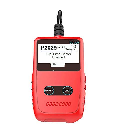 AWAKMER Verbesserter Scanner OBD2 Universal-OBD II Auto-Motorfehler-Code-Leser Berufs-Selbstdiagnose-Scan-Werkzeug (Universal-code-leser)