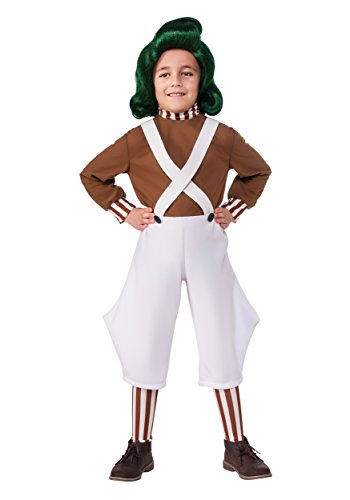 Child Oompa Loompa Fancy dress costume X-Small (Charlie Brown Kostüm Kinder)