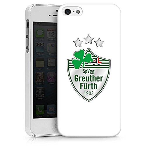 Apple iPhone X Silikon Hülle Case Schutzhülle Greuther Fürth Fanartikel Bundesliga Fußball Hard Case weiß