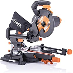 Ingletadura deslizante Evolution Power Tools R210SMS