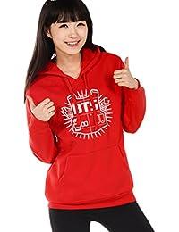 Minetom Femme Automne Hiver Manches Longues KPOP BTS Sweats à capuche Décontractée Hooded Sweatshirt Tops