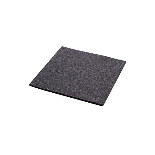 daff Filz Untersetzer aus Merino-Wolle 20×20 cm anthra melange