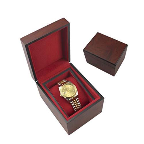 YZ-YUAN Caja de Reloj de Madera