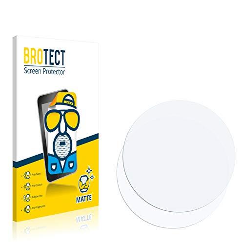 BROTECT Schutzfolie Matt kompatibel mit Fossil Q Venture (3.Gen) [2er Pack] - Anti-Reflex, Anti-Fingerprint, Anti-Kratzer