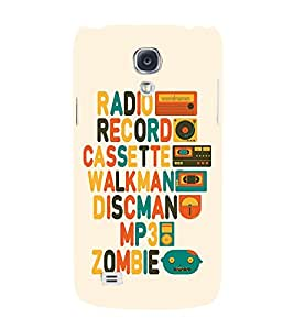 Blue Throat Generations payramid of Music Players Back Case Cover for Samsung Galaxy S4 I9500 :: Samsung I9500 Galaxy S4 :: Samsung I9505 Galaxy S4 :: Samsung Galaxy S4 Value Edition I9515 I9505G