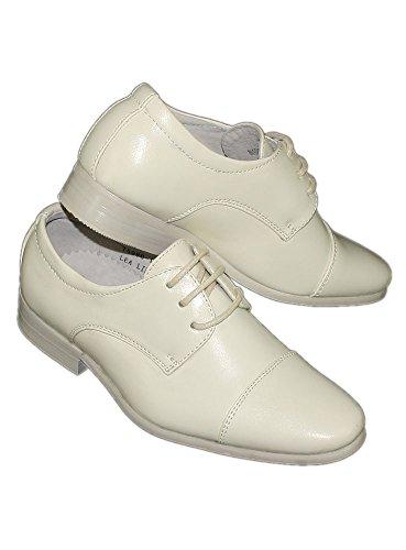 Boutique-Magique Chaussures de Cérémonie Mariage Garçon Homme Ivoire