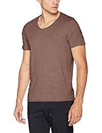 SELECTED HOMME Herren T-Shirt Shnnewmerce Melange Ss O-Neck Tee Noos