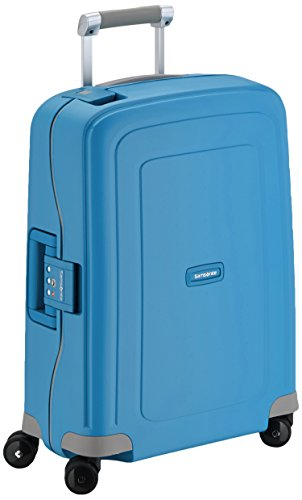 Samsonite Bagage Cabine S'cure Spinner - 55X40X20 , 34 L ,Pacific Bleu