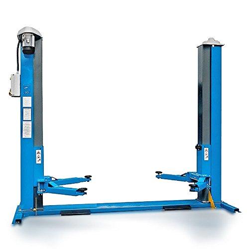 Preisvergleich Produktbild Hebebühne 2-Säulen Spindel UV 3.5 Tonnen 400V mit tragendem Grundrahmen Made in Italy