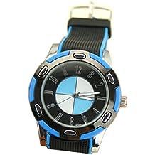 Sport Armbanduhr Quarz Analog Watch in aktuellen Trend Fan Farben, XXL Format