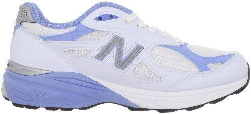 New Balance W990 Womens White with Blue & Grey