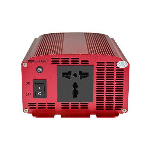 BESTEK Convertisseur 12V 220V Transformateur Onduleur Chargeur Adaptateur de Voiture 600W – Prise Universelle Offre de prix